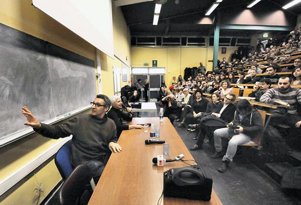 John+Turturro+Giving+Lecture+Dams+Universtity+79KQKm2hfyYl