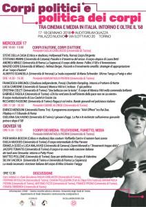 Corpi politici e politica dei corpi tra cinema e media in Italia